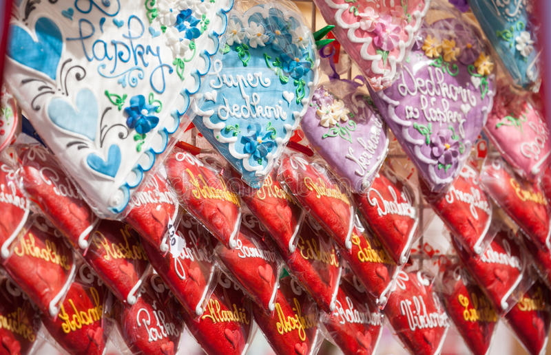 Download Gingerbread стоковое изображение. изображение насчитывающей конец - 41652867