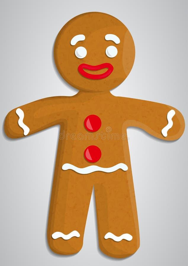 gingerbread ilustración del vector