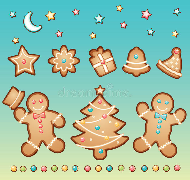 Download Gingerbread And Christmas Royalty Free Stock Photo - Image: 10283455