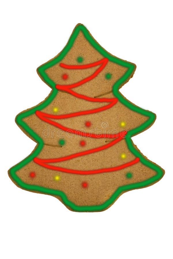 Free Gingerbread Christmas Tree Stock Photography - 11882472
