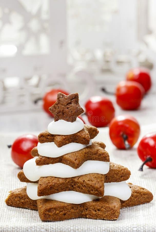 Download Gingerbread Christmas Trees. Beautiful Xmas Stock Photo - Image: 43228494