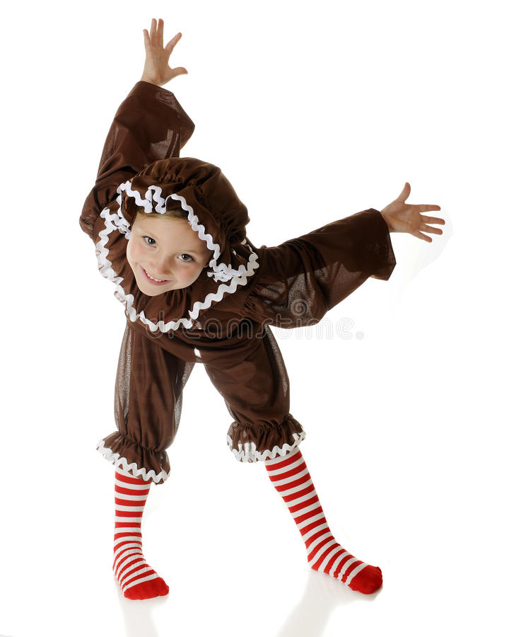 Gingerbread Contortions stock image