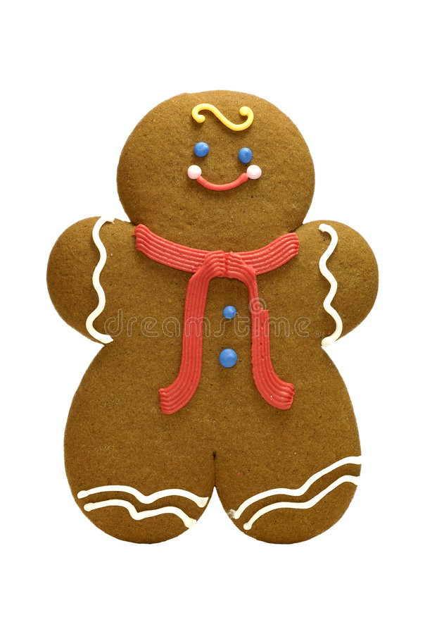Gingerbread Cookie stock image