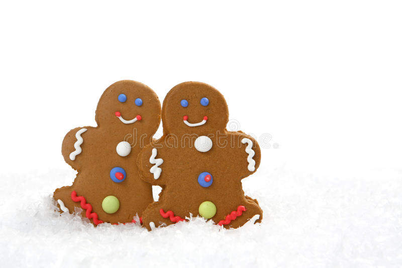 Download Gingerbread Cookies stock image. Image of close, smiling - 11642245