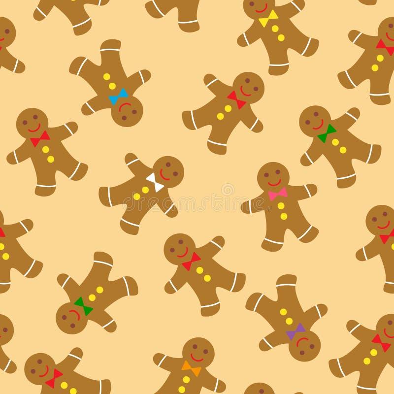 Gingerbread cookies vector illustration
