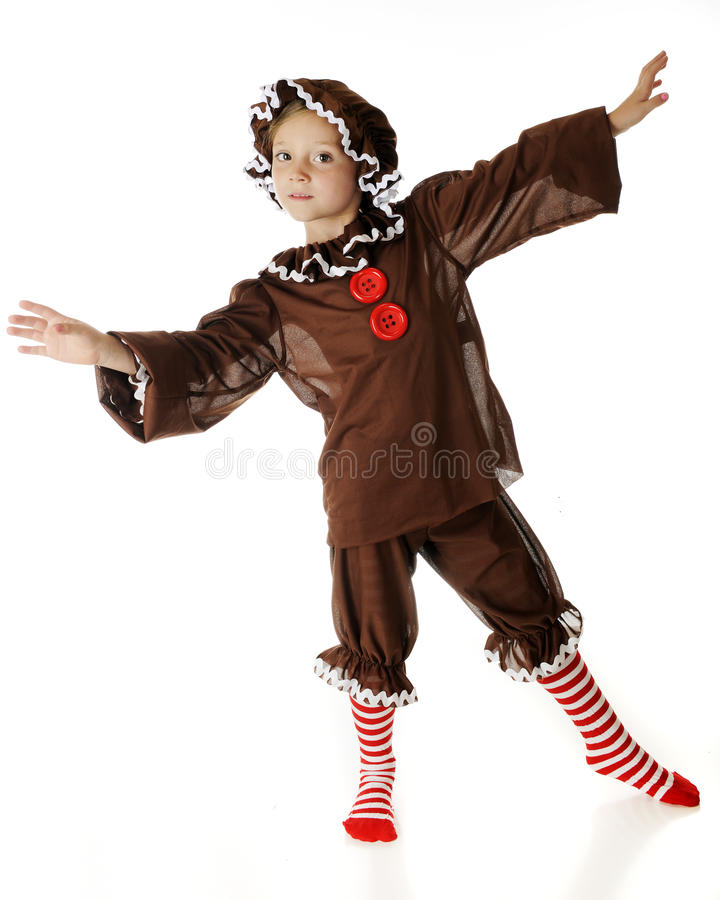 Download Gingerbread Dancer stock photo. Image of female, rickrack - 26657320
