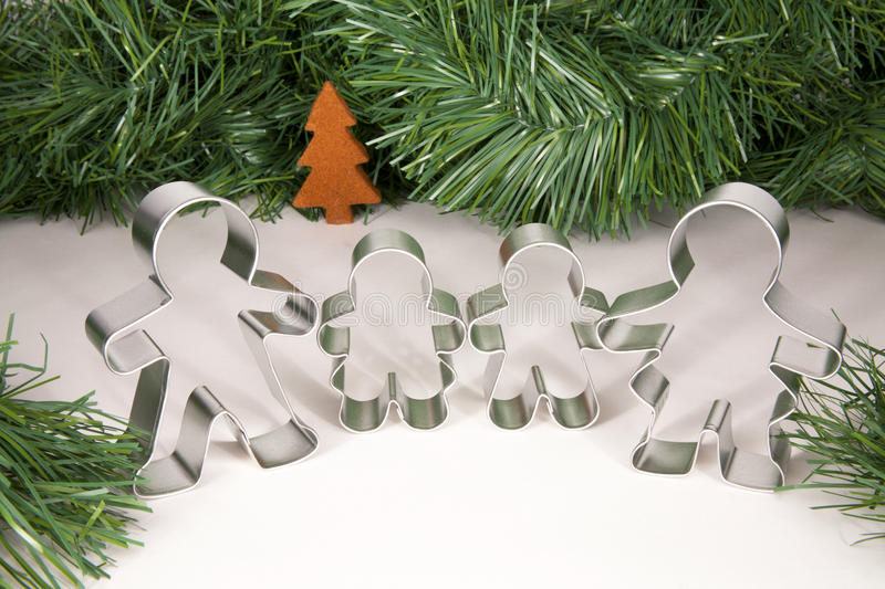 Download Gingerbread Family Christmas Stock Illustration - Image: 22518784