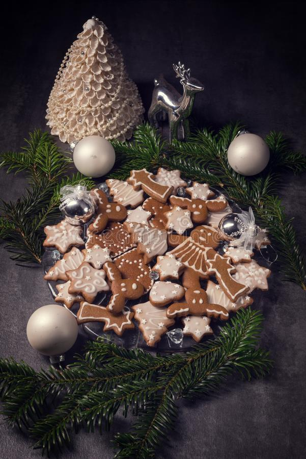 Gingerbread. A fresh and tasty Gingerbread stock photo
