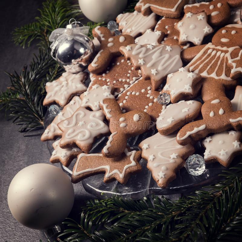 Gingerbread. A fresh and tasty Gingerbread stock photography