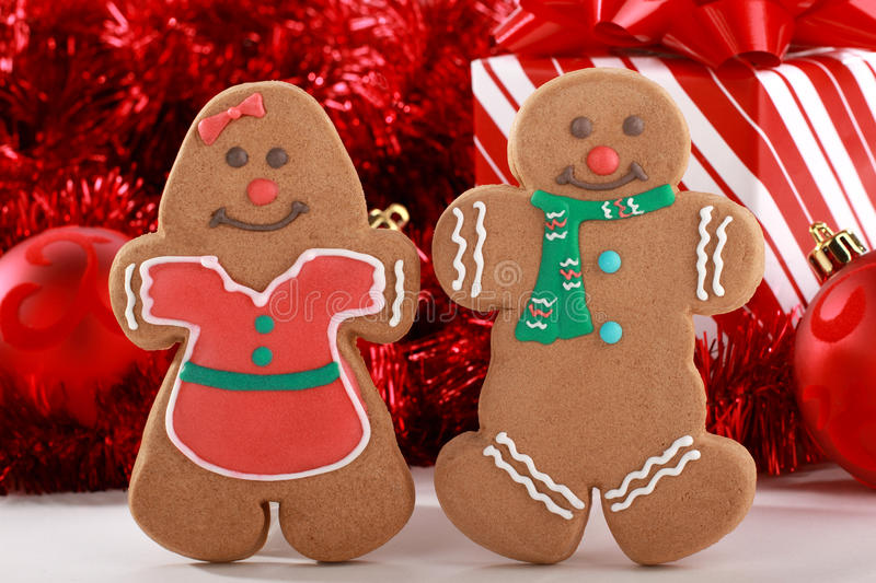 Gingerbread Friends royalty free stock photography