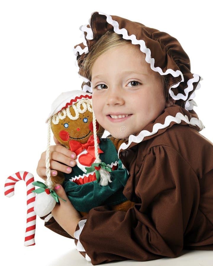Download Gingerbread Girl Impersonators Stock Image - Image: 26710779