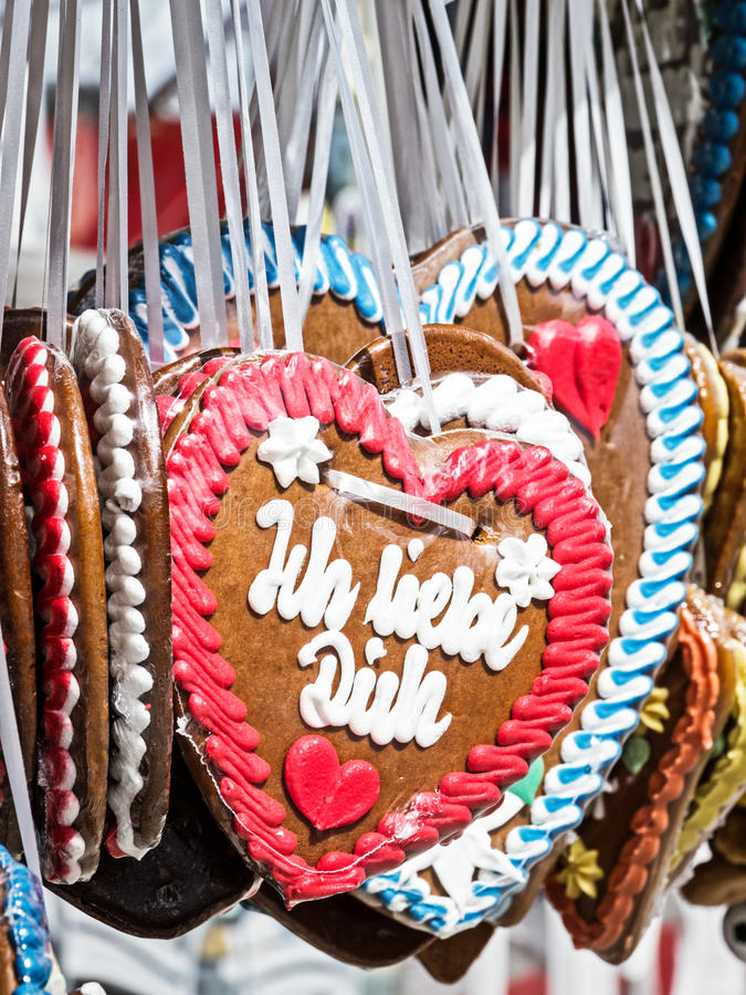 Download Gingerbread Heart Stock Photos - Image: 28376243