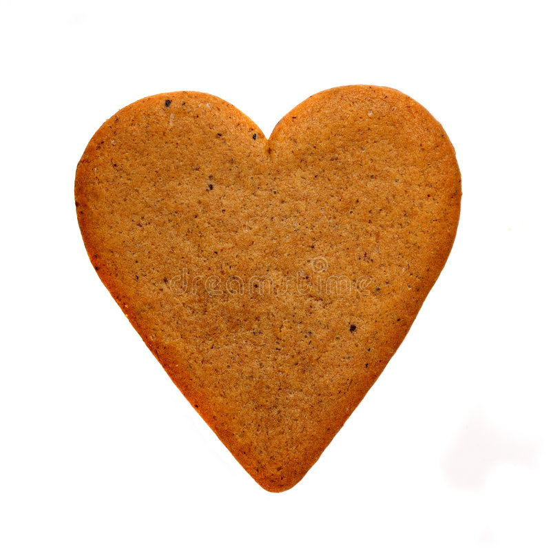 Free Gingerbread Heart Royalty Free Stock Photo - 3829185
