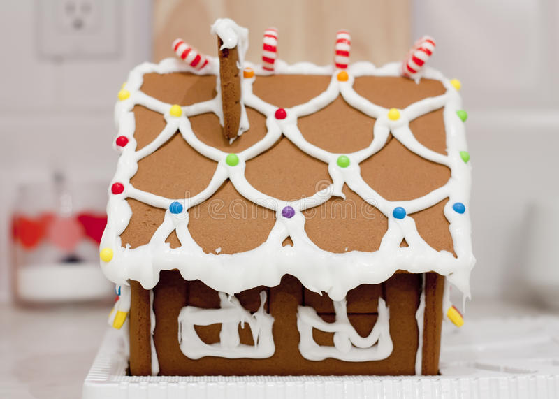 Download Gingerbread House stock photo. Image of celebration, glazing - 22715922