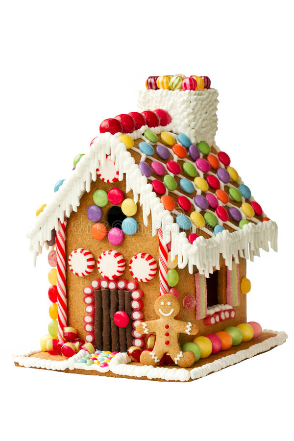 Free Gingerbread House Royalty Free Stock Photos - 34906478
