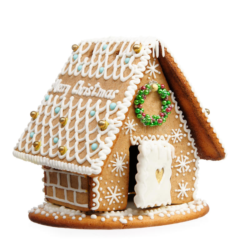 Free Gingerbread House Royalty Free Stock Image - 49821646