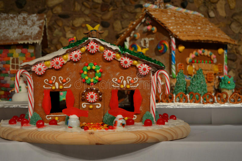 Gingerbread Houses stock photography