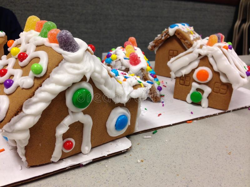 Gingerbread houses royalty free stock image