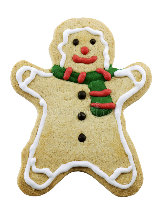 Download Gingerbread Man stock photo. Image of cookie, xmas, isolated - 3465838