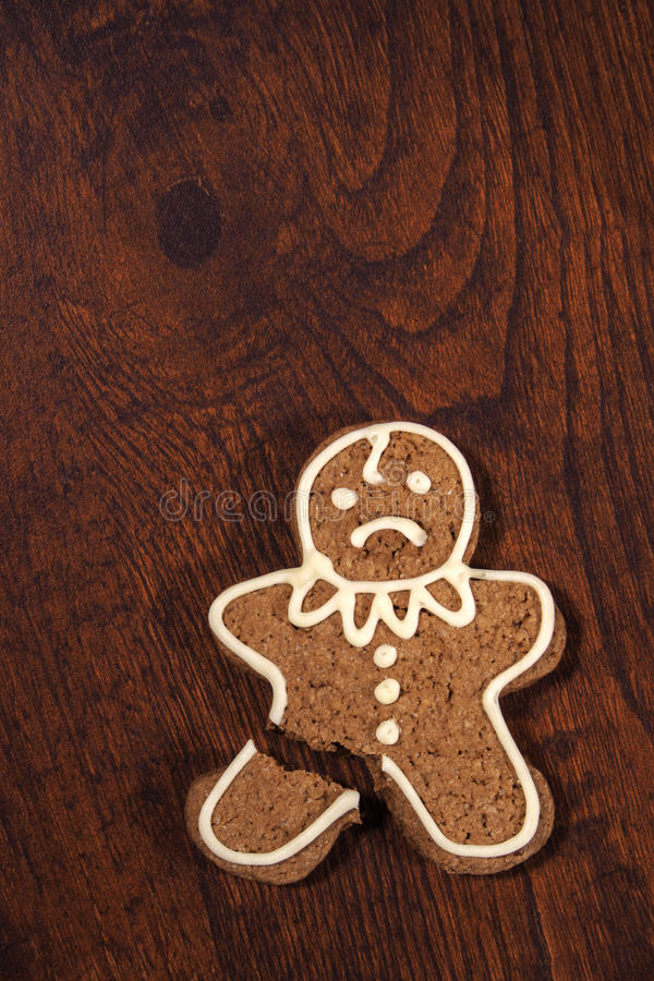 Gingerbread man. stock photography
