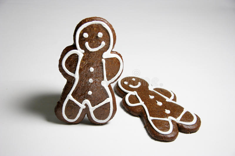 Download Gingerbread Men stock image. Image of background, snack - 14408387