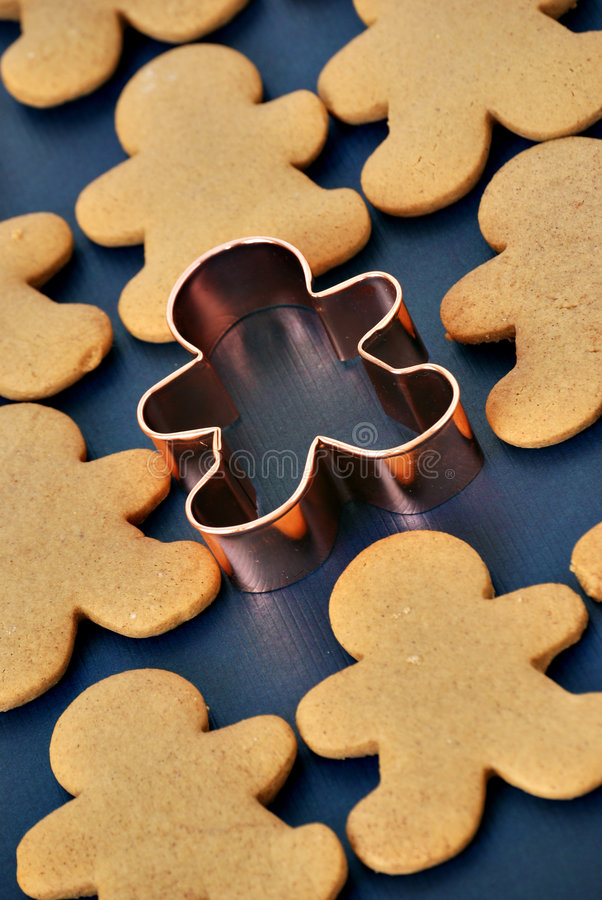 Download Gingerbread men stock image. Image of aroma, cookie, cutter - 7351489