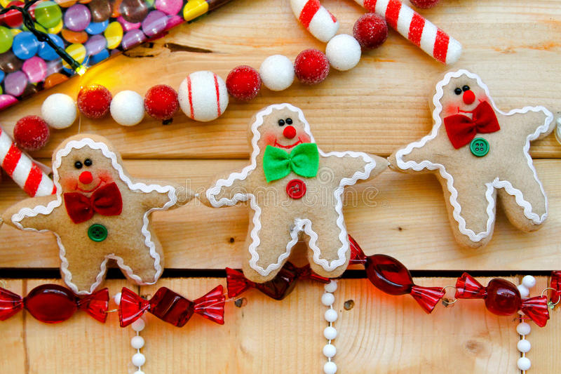 Gingerbread ornament royalty free stock photography