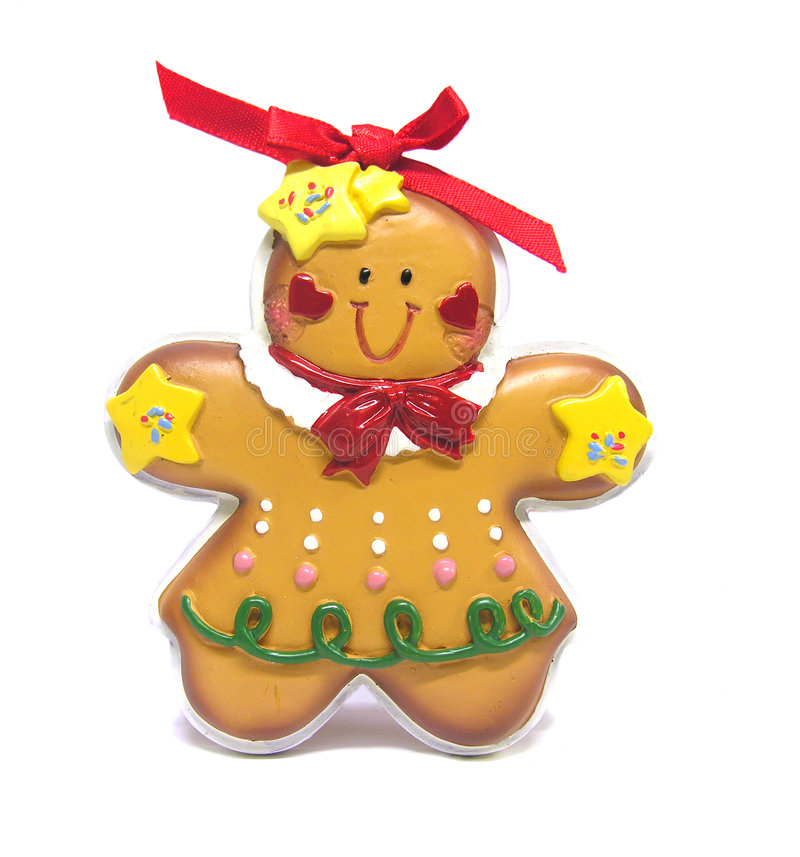 Gingerbread Ornament stock images