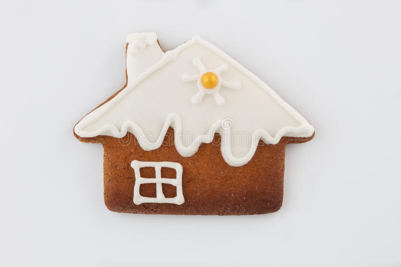 Gingerbread on white backround stock images