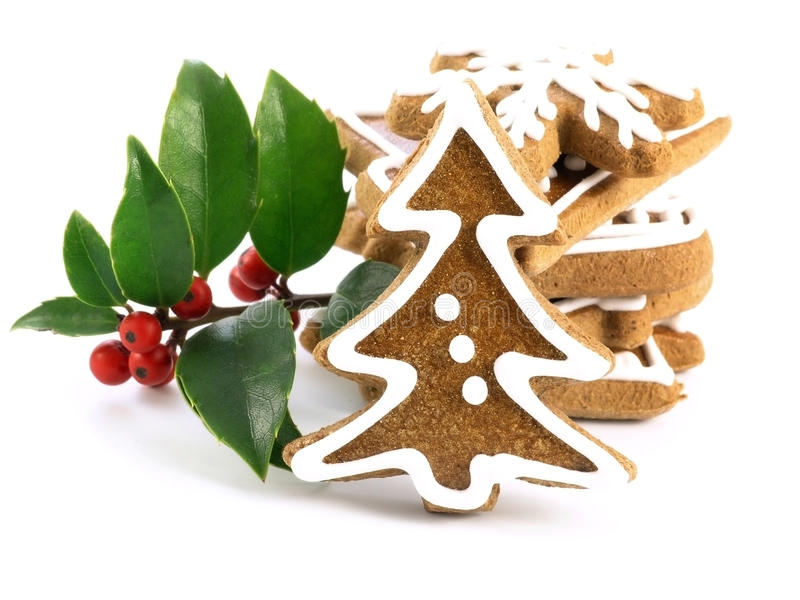Download Gingerbreads stock image. Image of biscuit, gourmet, symbol - 22290303