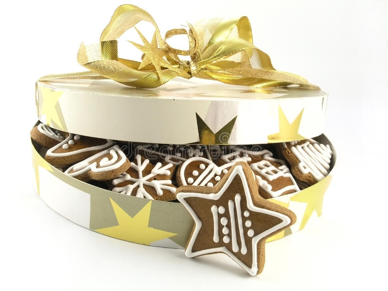 Download Gingerbreads stock photo. Image of dessert, ornament - 22330256