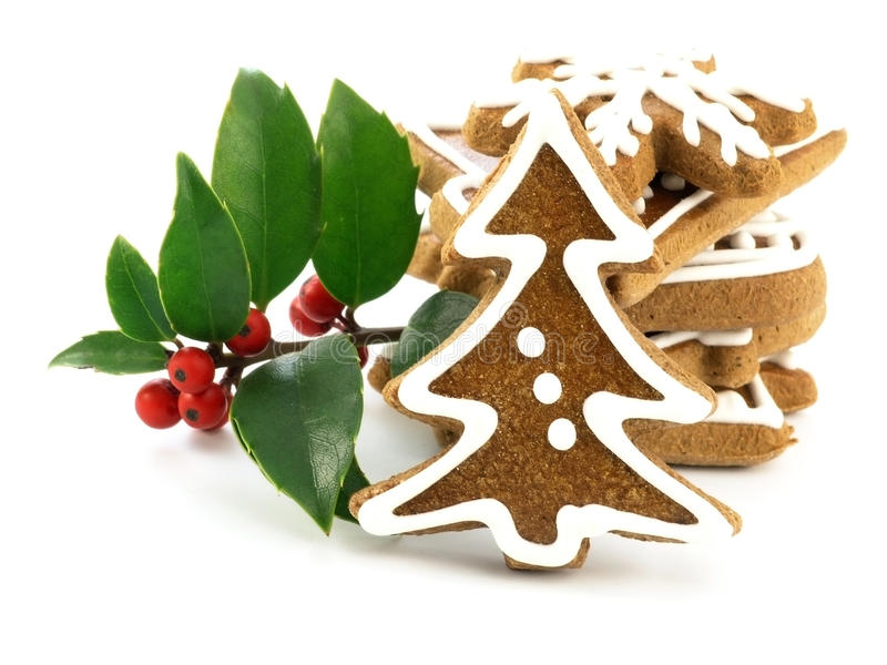 Download Gingerbreads stock image. Image of heart, cokkie, symbol - 22330289