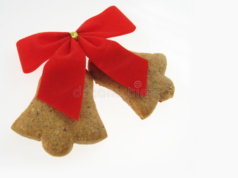 Gingerbreads & red bow