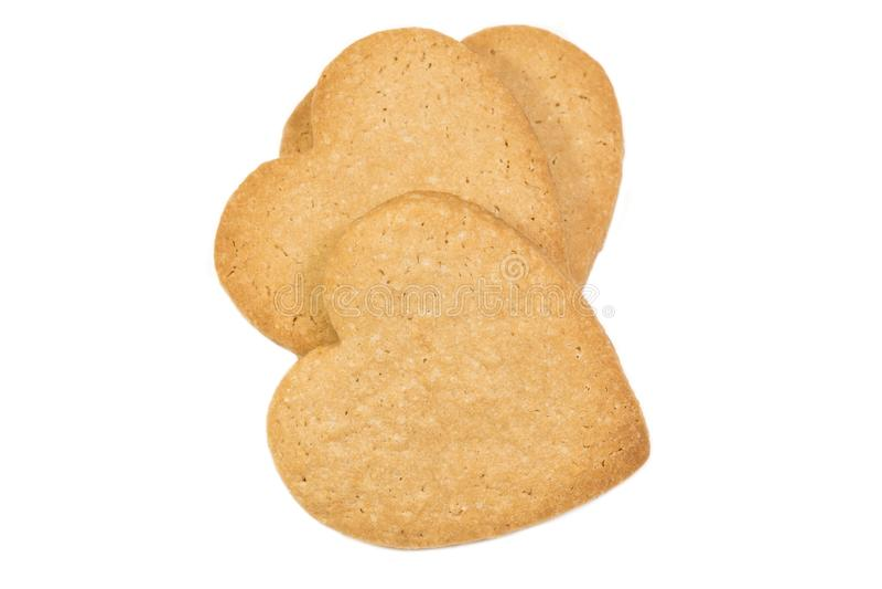 Gingerman-Pl?tzchen im Kasten stockbild