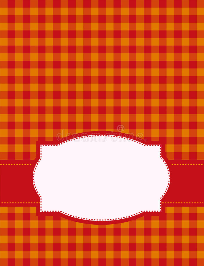 Download Gingham background stock illustration. Illustration of backgrounds - 24164362