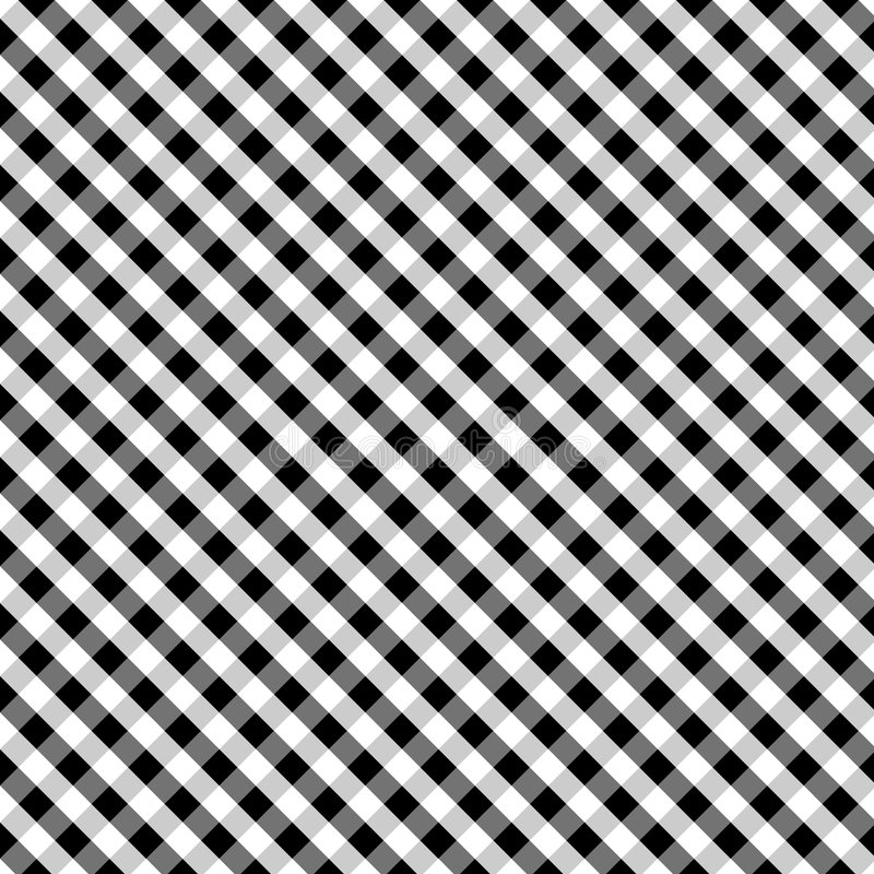 Download Gingham Cross Weave, Black, Seamless Background Stock Vector - Image: 6691526