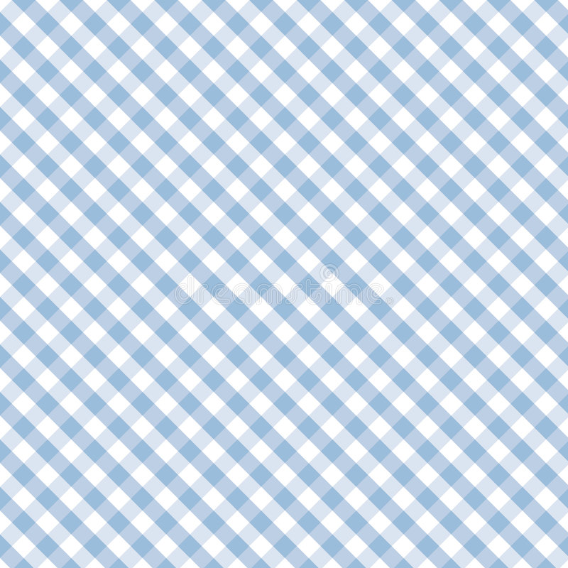 Gingham Cross Weave, Pastel Blue, Seamless