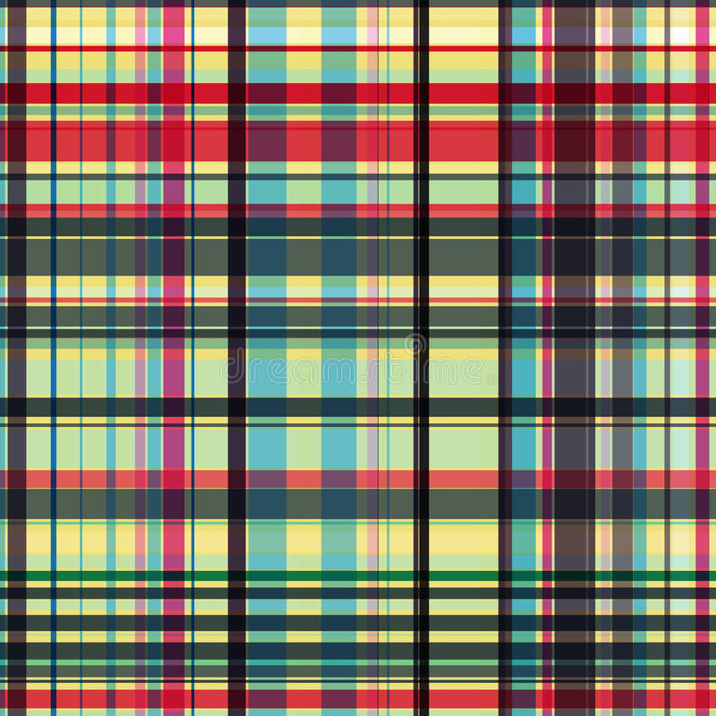Download Gingham pattern stock vector. Image of pattern, glamour - 10504137