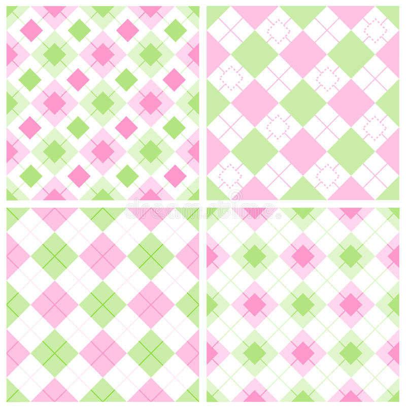 Gingham Pattern Stock Image