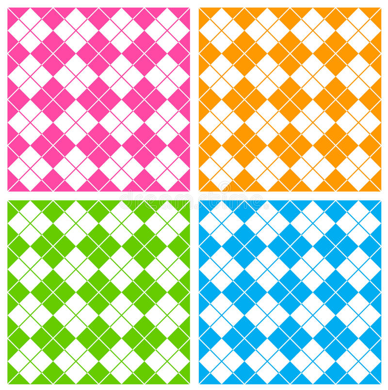 Download Gingham pattern stock vector. Image of coloured, backdrop - 21621984
