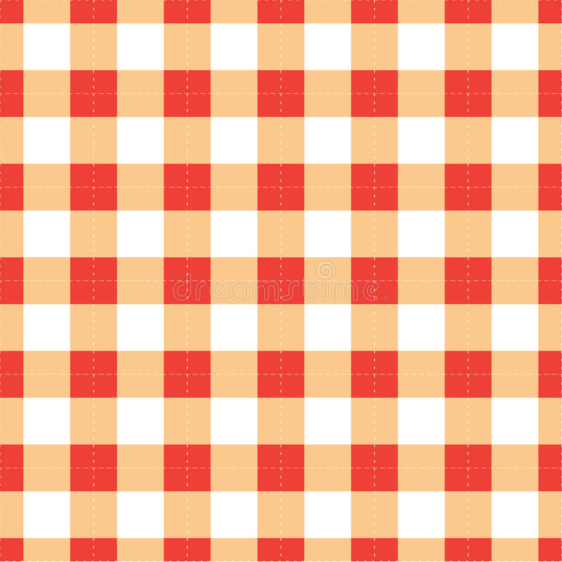 Download Gingham pattern stock vector. Image of illustration, cloth - 28190606