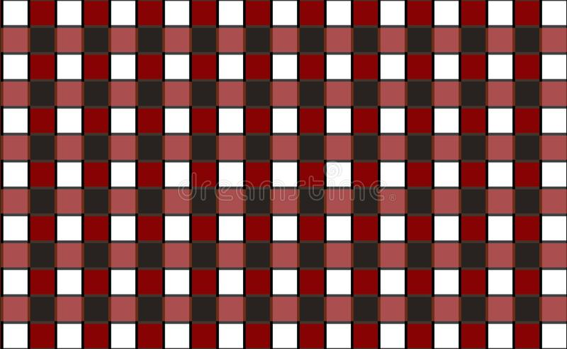 Gingham pattern background,tablecloth for textile articles.Vector illustration. EPS-10 royalty free illustration