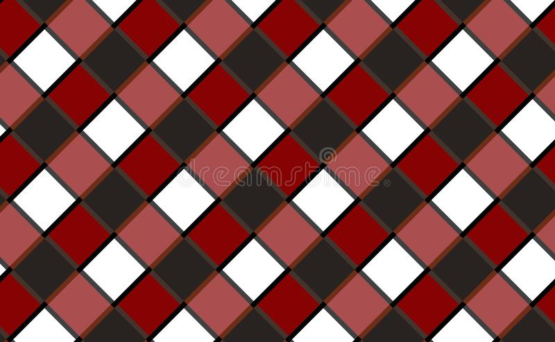 Gingham pattern background,tablecloth for textile articles.Vector illustration. EPS-10 stock illustration