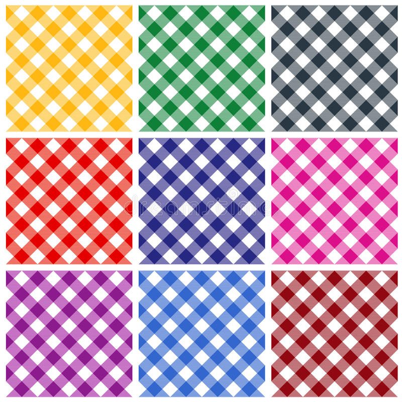 Download Gingham Patterns Stock Photography - Image: 25354772