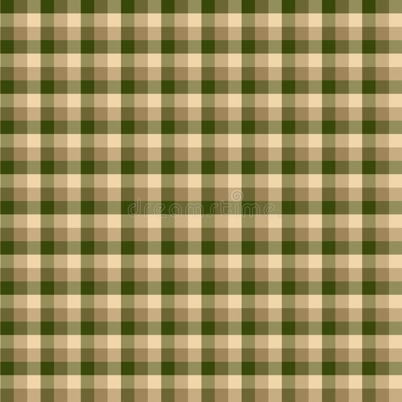 Gingham seamless green pattern. Texture for plaid, tablecloths, clothes, shirts,dresses,paper,bedding,blankets,quilts and other. Textile products. Vector vector illustration