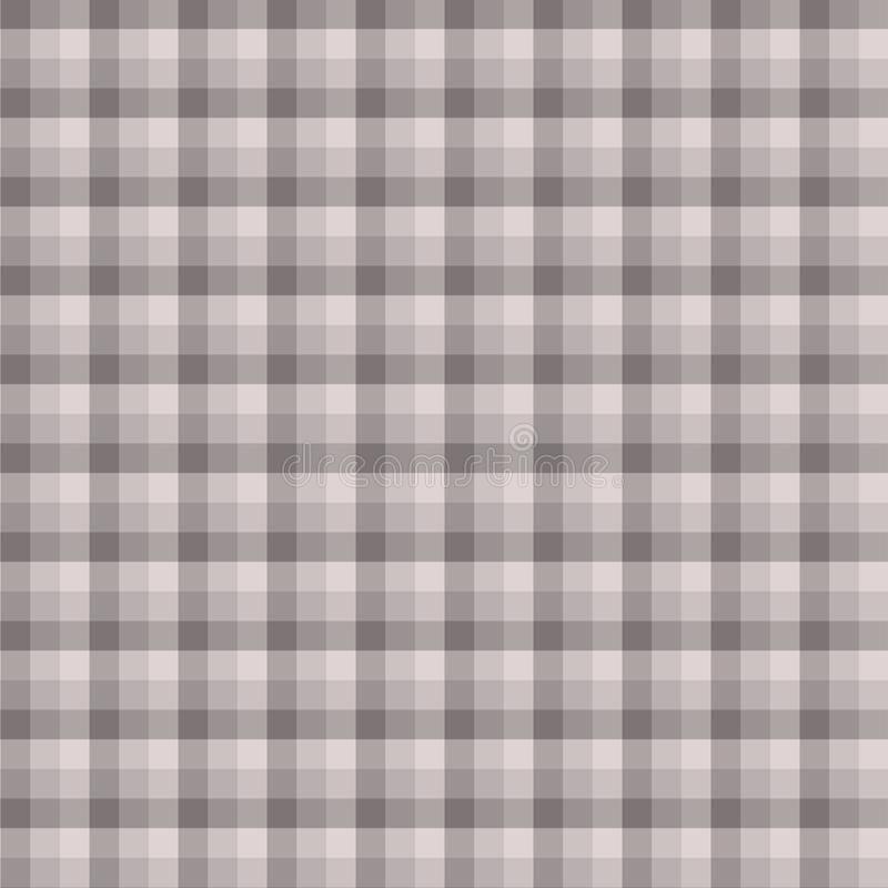 Gingham seamless grey pattern. Texture for plaid, tablecloths, clothes, shirts,dresses,paper,bedding,blankets,quilts and other. Textile products. Vector royalty free illustration