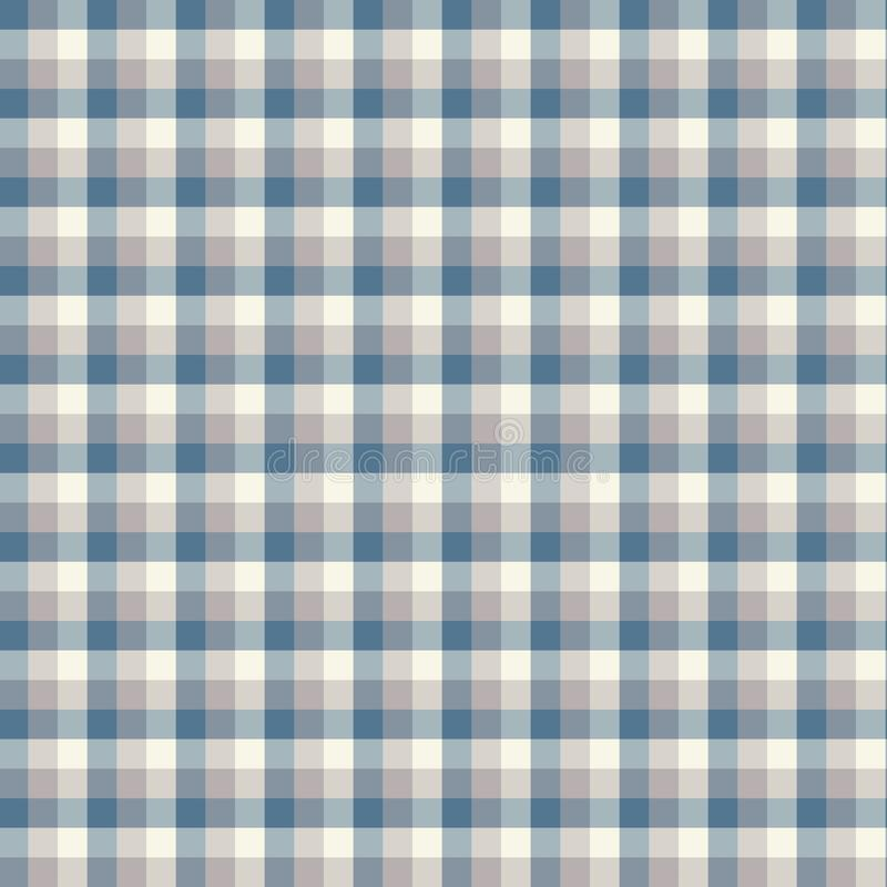Gingham seamless light blue pattern. Texture for plaid, tablecloths, clothes, shirts,dresses,paper,bedding,blankets,quilts and. Other textile products. Vector vector illustration