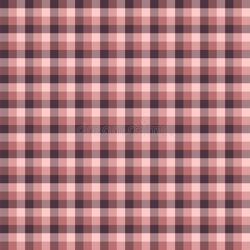 Gingham seamless red pattern. Texture for plaid, tablecloths, clothes, shirts,dresses,paper,bedding,blankets,quilts and other. Textile products. Vector royalty free illustration