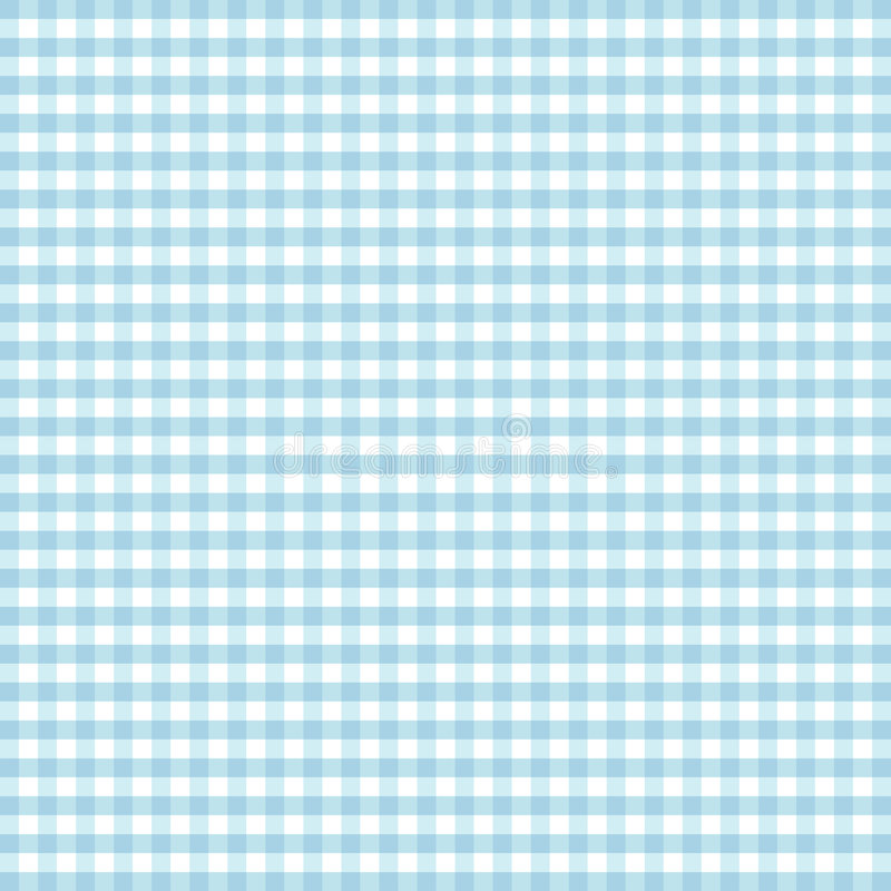 gingham seamless turquoise 向量例证