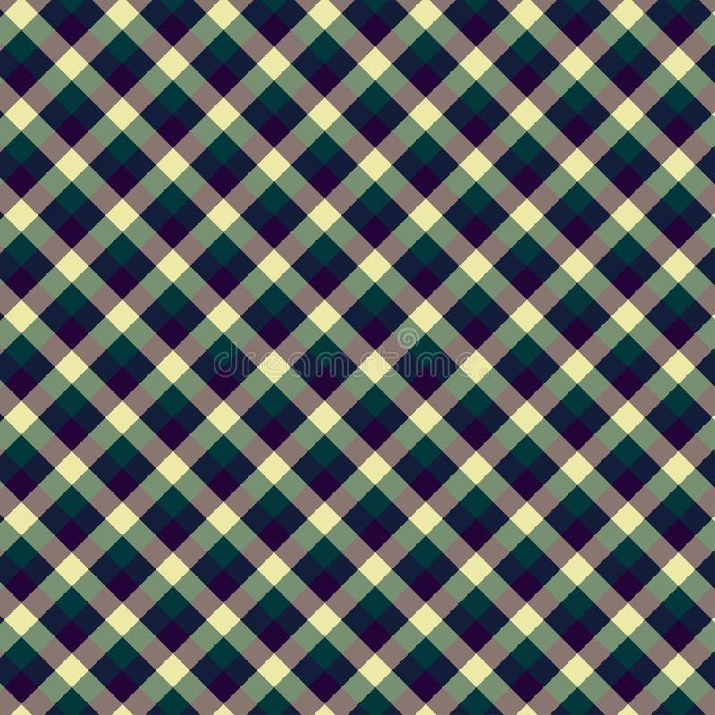 Gingham seamless violet pattern. Texture for plaid, tablecloths, clothes, shirts,dresses,paper,bedding,blankets,quilts and other. Textile products. Vector vector illustration